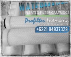 Glass Fiber Pleated Filter Cartridge Indonesia  large