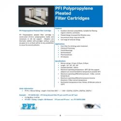 PFI Pleated Filter Cartridge  large
