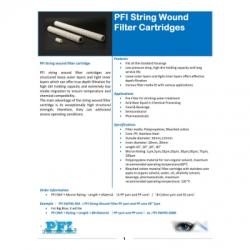 PFI String Wound Filter Cartridge PFI Filtration  large