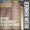 resin bonded filter cartridge  medium
