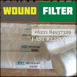 wound filter benang  large